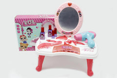 LOL Surprise Doll Vanity Table Mirror Dresser Table Toy (998A-5LOL)