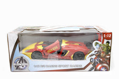Avengers Iron Man Racing Sport Car Remote Control (03968-3)