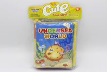 Load image into Gallery viewer, Fabric Book Pack of 2 Undersea World And Knowledge of Life (KC3055)