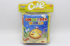 Fabric Book Pack of 2 Undersea World And Knowledge of Life (KC3055)