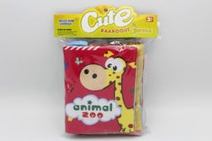 Fabric Book Pack of 2 Learn Clothing And Animal Zoo (KC3055)