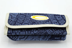 Jeans Style Blue Pencil Pouch (KC044)