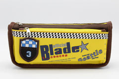 Blade Pencil Pouch Yellow & Brown (736)
