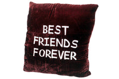 Embroidered Cushion Best Friend's Forever