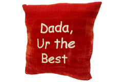 Embroidered Cushion Dada Ur The Best