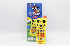 Mickey Mouse Yellow Phone Battery Operated Toy (695)