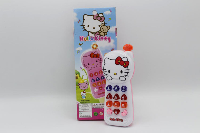 Hello Kitty Phone Battery Operated Toy (695B)