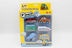 Die Cast Model Cars 6 Pcs Set (0783-220)