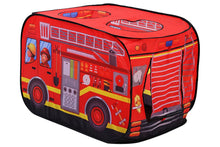 Load image into Gallery viewer, Fire Engine Truck Shaped Tent House (W545)