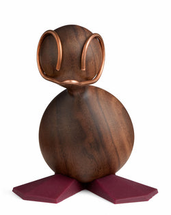 Design figure, The Duckling, Walnut