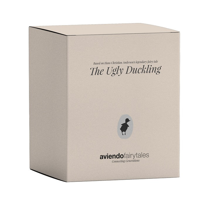 Design figure, The Ugly Duckling, Walnut - Aviendo Copenhagen