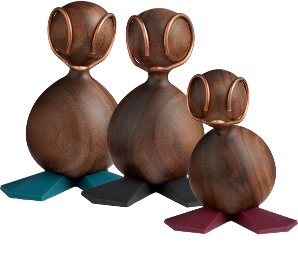 Design figure, The Ugly Duckling, Walnut
