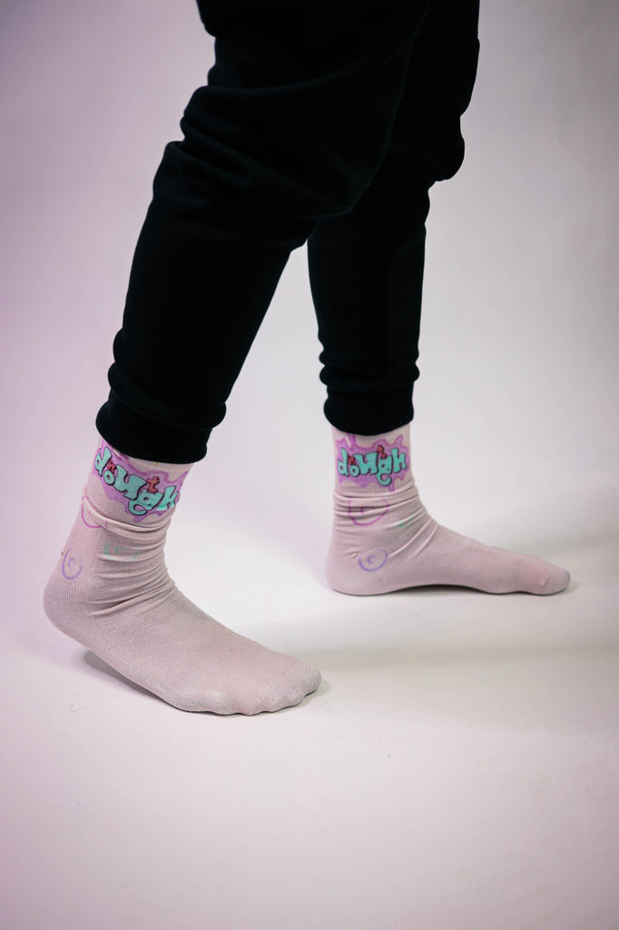 Doughnut Multi Color Socks