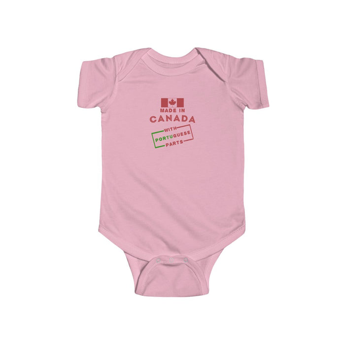 Made in Canada with Portuguese Parts Onesie (NB - 24M)