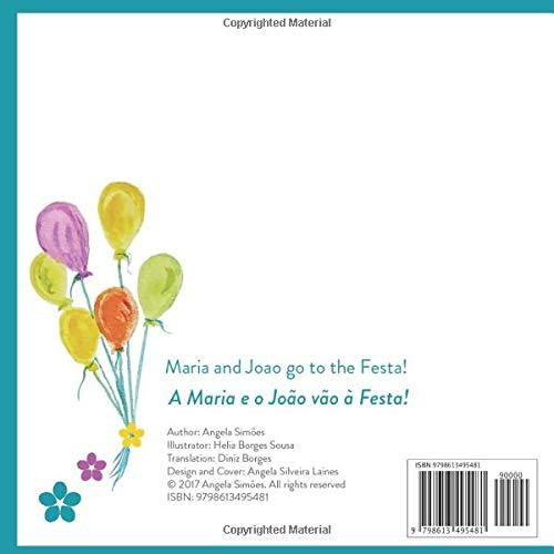 """Maria and Joao go to the Festa!"" Book by Angela Simoes"