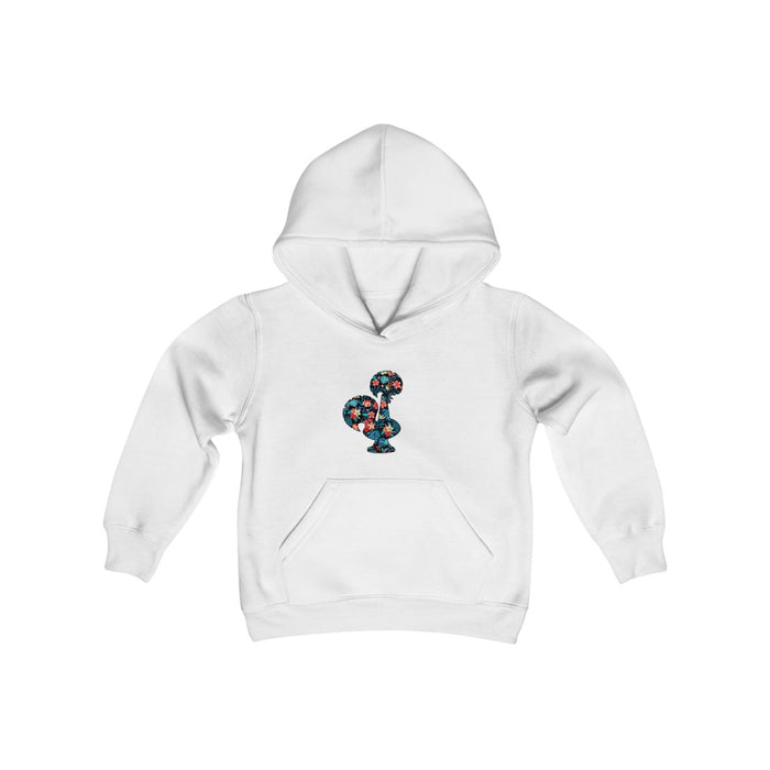Youth Size Tropical Rooster Hoodie (XS-XL)