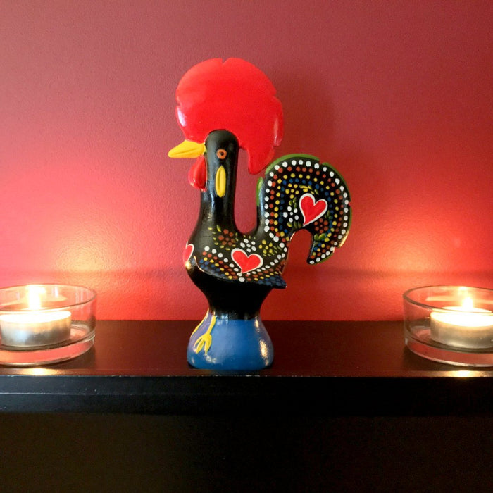 "Barcelos Rooster 6"" Traditional Figurine (Ceramic)"