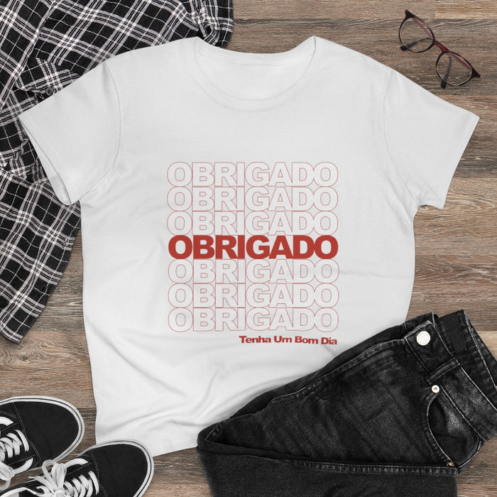 Obrigado Women's T-Shirt