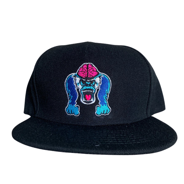 "Black ""Seymour Genius"" Hat"