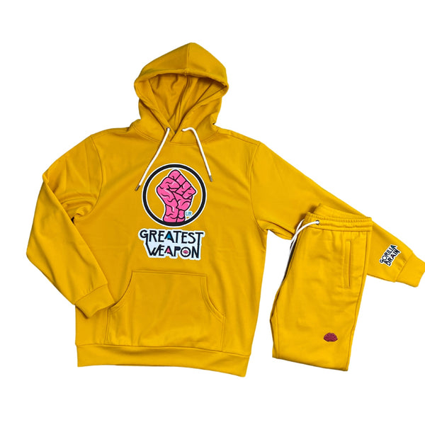 "'Go Gold' Limited Edition ""Our Greatest Weapon"" Hoodie"