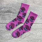 "Seymour Pink ""Brain Gang"" Socks"