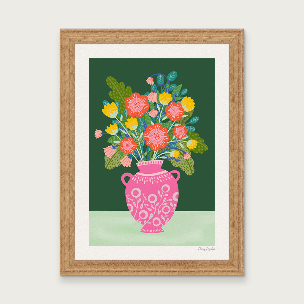 bunch of flowers fine art print