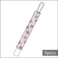 Attache-suce - Rose papillons