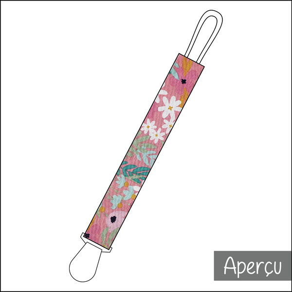 Attache-suce - Rose tropical
