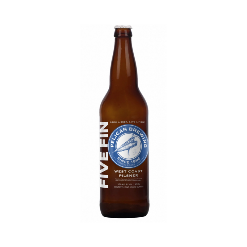 Pelican Five Fin Pilsner (6 Pack)