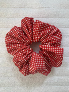 Red small check / gingham