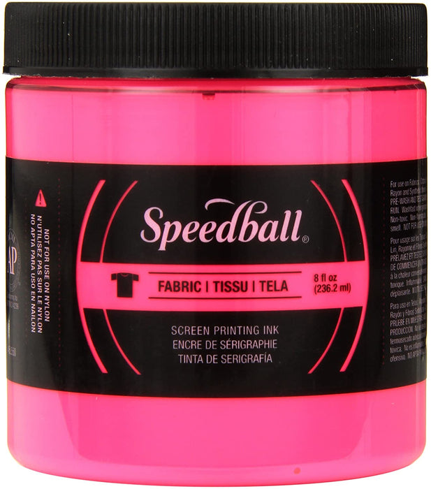 Fabric Screen Printing Inks, 8oz