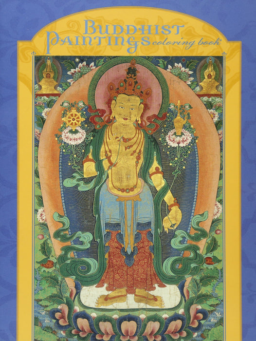 Buddhist Painting Coloring Book