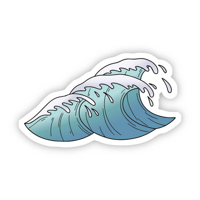 Wave Sticker