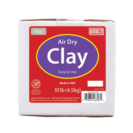 CLAY AIR DRY GRAY 10LB