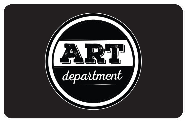 Art Department Physical Gift Card