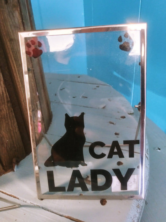 Glass Home Decor Signs