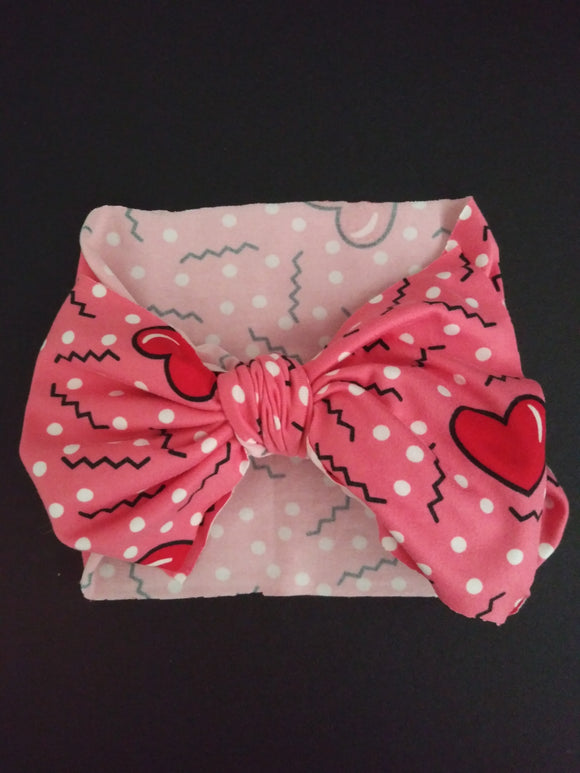 Hearts Bow Wrap Children's