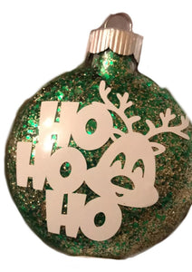 Jolly Deer Ornament