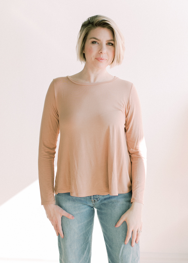 Courtney Bamboo Classic Long Sleeve