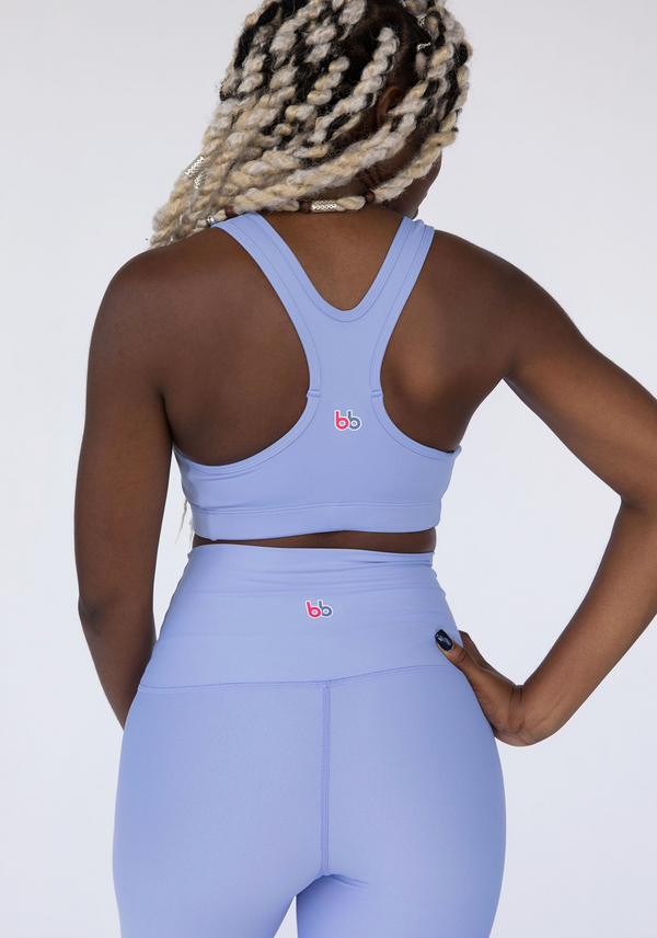 Periwinkle Butter Soft Sports Bra