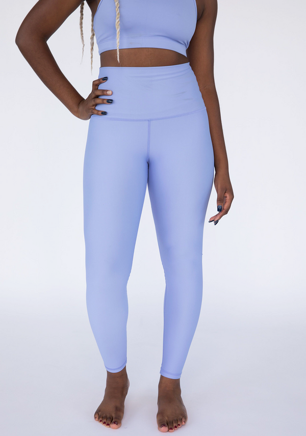 Periwinkle High Waisted Butter Soft Leggings