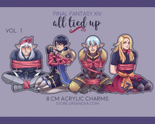 Load image into Gallery viewer, [FFXIV] All Tied Up Charms