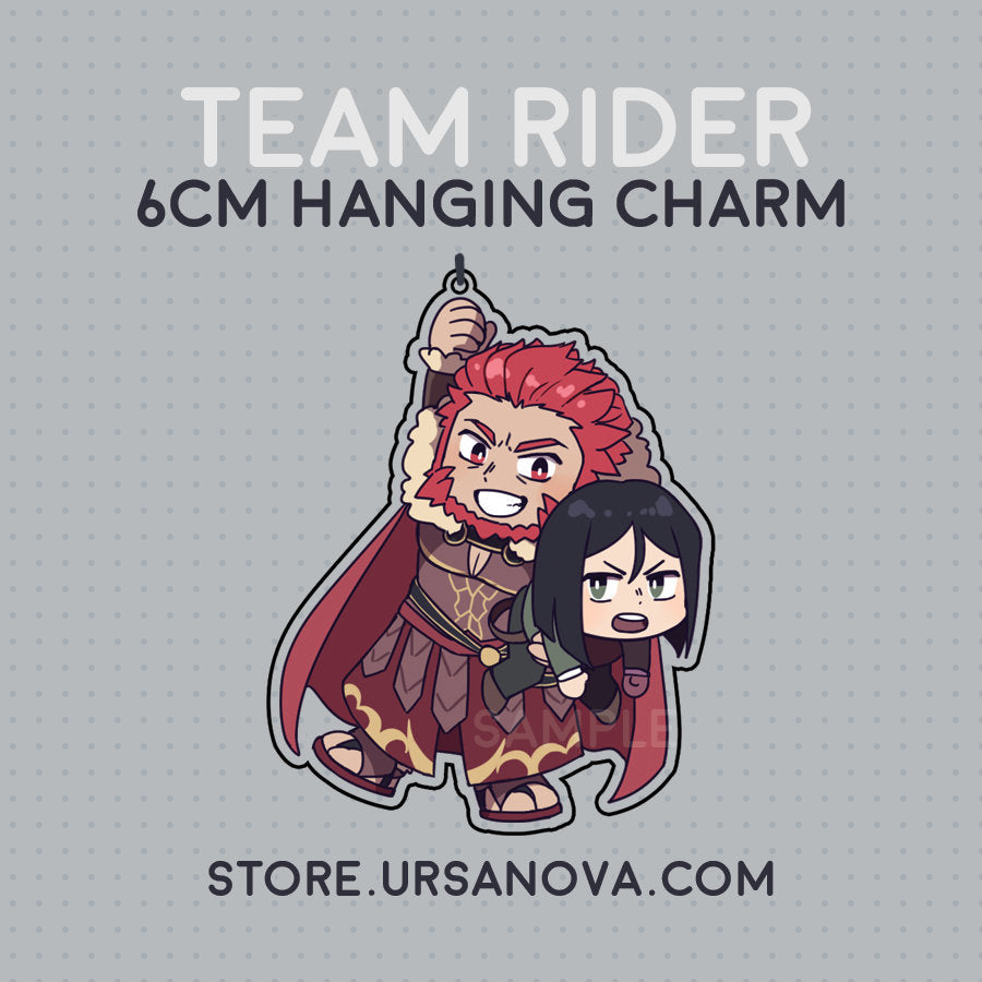 [FATE] Team Rider Hanging Charm