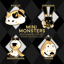 Load image into Gallery viewer, [FFXIV] Mini Monsters Enamel Pin Set