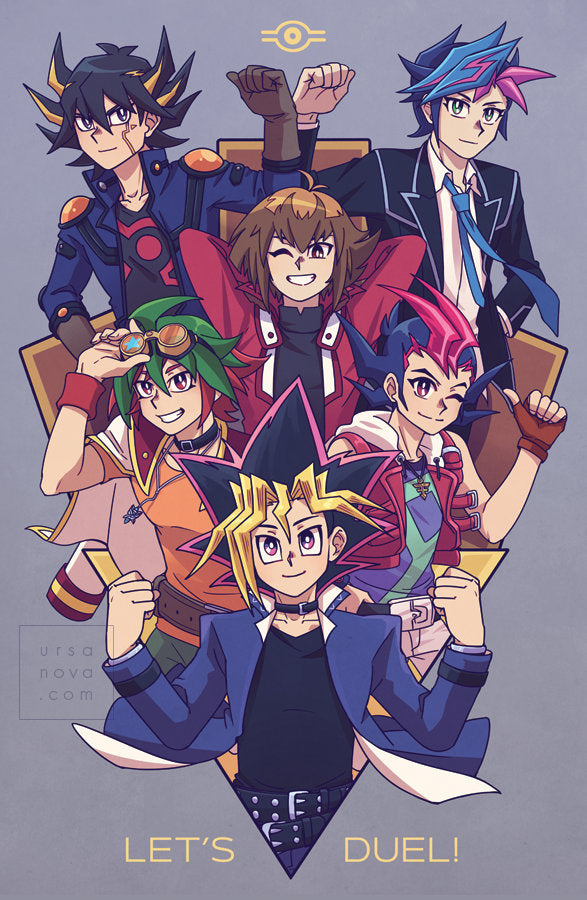 [Yugioh] Let's Duel! Poster Print