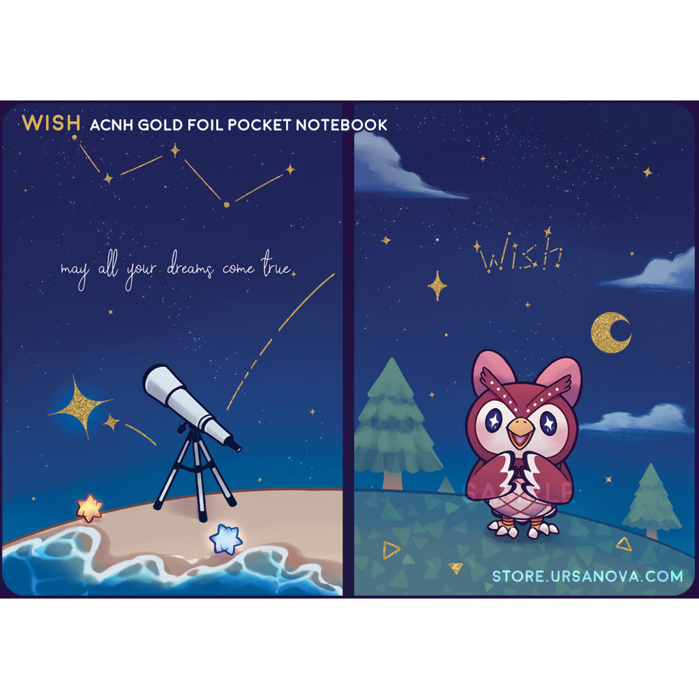 [ACNH] Wish Pocket Notebook