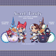 Load image into Gallery viewer, [FFXIV] Sweet Treats Acrylic Standees