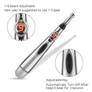 Electronic Acupuncture Pen Electric Meridians Laser - Fedepot