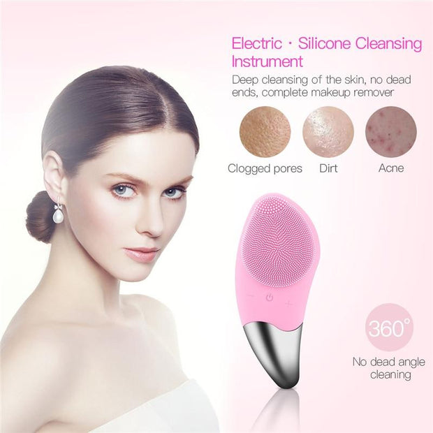 Electric Facial Cleansing Brush - Fedepot
