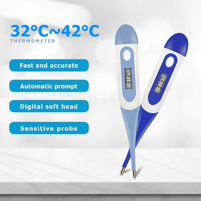 LCD Temperature Instruments Digitales Thermometer - Fedepot